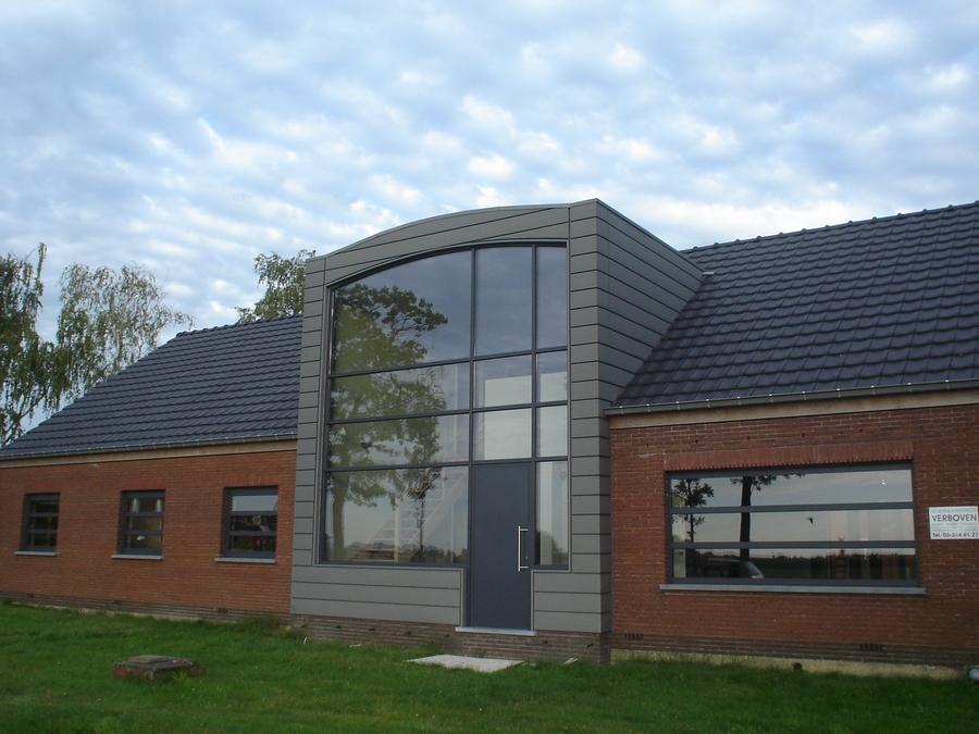 Gevelbekleding frank peeters dak en zinkwerken - De naad bouwen ...