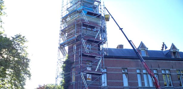 Torenwerken.. een vak apart!